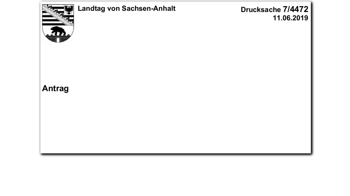 Antrag Schließung Brüchau 06/2019
