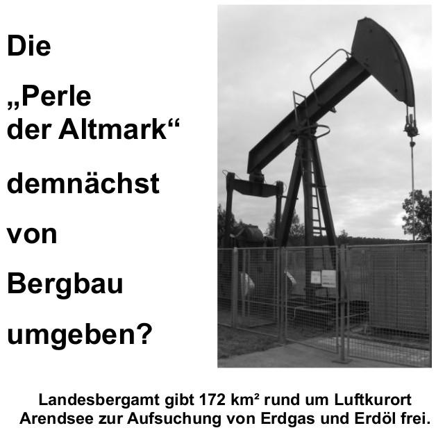 Luftkurort Arendsee Öl- und Gas-Industrie?